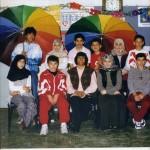 De eerste islamitische schoolklas - een reünie foto
